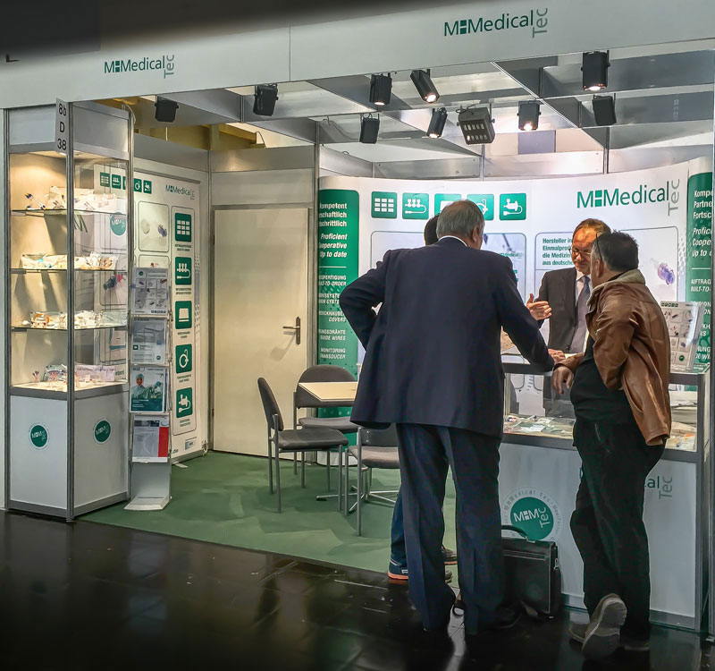 MHMedical Tec - Messestand